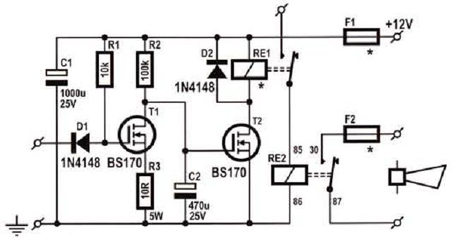 Raj U0026 39 S Thoughts       Simple Car Alarm Sound Booster
